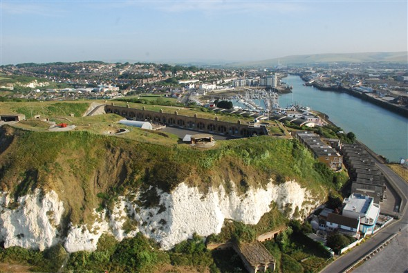 Photo:Newhaven Fort and Harbour